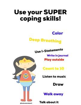 Wonder Woman Coping Skills