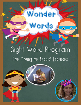 Wonder Words Sight Word Program for Special and Young Students