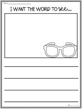Kindness Writing Craft, K-4