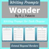 Wonder RJ Palacio Novel Writing Prompts