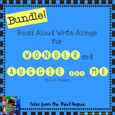 Wonder and Auggie and Me Read Along Write Alongs BUNDLE