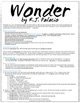 Inspired by R.J. Palacio's Wonder (Wonder Lesson Plans, Empathy Lesson Plans)