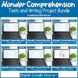 Wonder by R.J. Palacio Comprehension Test Google™ BUNDLE f
