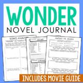 Wonder by R.J Palacio Novel Study Unit Activities, In 2 Formats