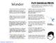 WONDER, by R.J. PALACIO PLOT DIAGRAM, STORY MAP, PLOT PYRAMID, PLOT CHART PUZZLE