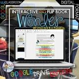 WONDER by R.J. PALACIO NOVEL STUDY LITERATURE GUIDE FOR GOOGLE DRIVE