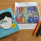 Wonder by R.J.Palacio Mystery Picture - Color by Character