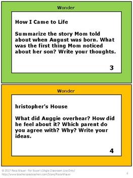 Wonder by R. J. Palacio: Novel Study