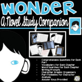 Wonder by R.J Palacio, Wonder Novel Study