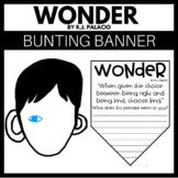 Wonder by R.J. Palacio - Precept Bunting Banner
