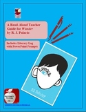 Wonder Novel Study Discussion & Read-Aloud Guide