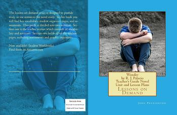 Wonder by R. J. Palacio Teacher's Guide Novel Unit and Lesson Plans