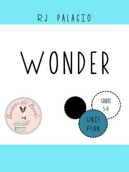 Wonder by R.J. Palacio Unit Bundle