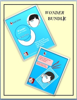 Wonder Novel Study Unit Plan and  Discussion & Read-Aloud Guide BUNDLE