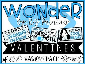 Wonder by R.J. Palacio - Valentine Variety Pack - Style 1