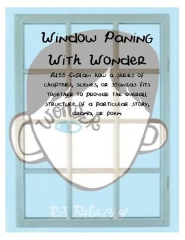Wonder by R.J. Palacio - Window Pane Lesson
