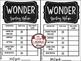 Wonder Novel Study by: R.J. Palacio [Brochures]