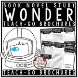 Wonder Novel Study by: R.J. Palacio [Book Review Brochures]