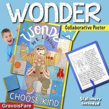 Wonder by RJ Palacio BUNDLE—Circlebook Projects & Character Agamographs—Save 15%