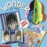 Wonder by RJ Palacio BUNDLE—Circlebook Projects & Character Agamographs—Save 15%