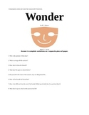Wonder, by R.J. Palacio Book Unit