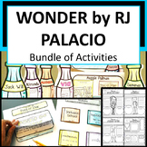 Wonder by RJ Palacio Bundle of Activities