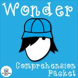 Wonder Comprehension Activity Packet