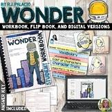 WONDER NOVEL STUDY WORKBOOK, FLIP BOOK, AND FOR GOOGLE DRIVE™ LITERATURE GUIDE