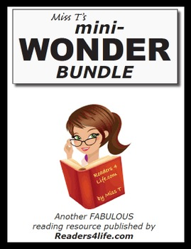 Wonder by R.J. Palacio Mini Literature Unit