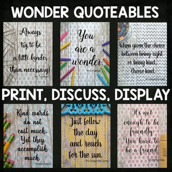 Wonder by RJ Palacio Novel Unit BUNDLE for Google Slides