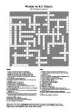 Wonder by R.J. Palacio (Part 4) - Vocabulary Crossword