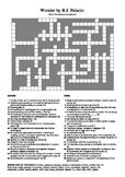 Wonder by R.J. Palacio (Part 5) - Vocabulary Crossword