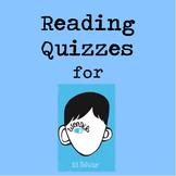 Wonder - 17 Reading Quizzes