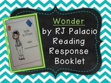Wonder by RJ Palacio Response Booklet