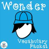Wonder Vocabulary Activity Packet