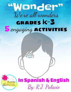 Wonder for k-3 in Spanish & English