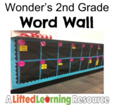 Wonder's Word Wall - 2nd Grade (High-Frequency Words)