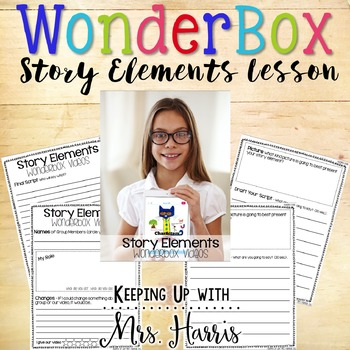 WonderBox Story Elements Freebie