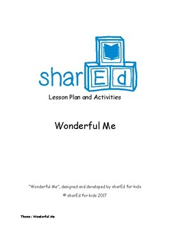 Wonderful Me_ Lesson Plan Pack on 'Human Body'