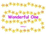 Wonderful One - A 2-Player Game to Practice Adding One More to a Number