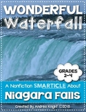 Nonfiction Text about Waterfalls for Grades 2-4 (Wonderful Waterfall)