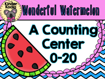 Wonderful Watermelon {A Counting Center} USA Version
