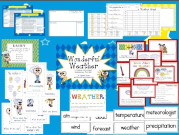 Wonderful Weather: A Common Core Aligned Mini-Unit