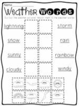 Wonderful Weather: Craft ideas, activities & printables