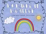 Wonderful Weather Literacy Activities
