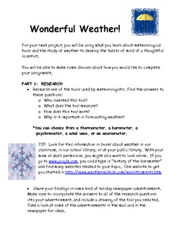 Wonderful Weather Project