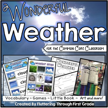 Distance Learning - Weather Science Unit for the Common Core Classroom