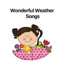 Wonderful Weather Songs