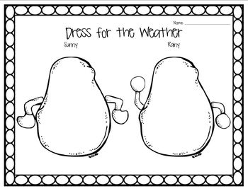 Wonderful Weather (Weather Journal, Dress the Tater, and more!)