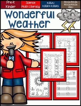 Wonderful Weather for Pre-K and Kindergarten